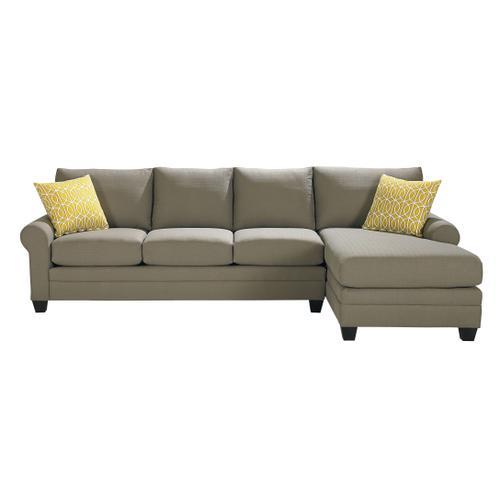 Bassett Furniture - Premium Collection - Carolina Sock Arm Sectional