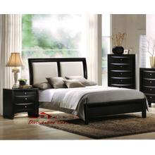 Acme 04160 Ireland White PU Bedroom set Houston Texas USA Aztec Furniture
