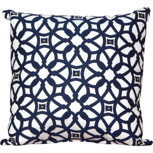 Toss Pillow in Luxe indigo