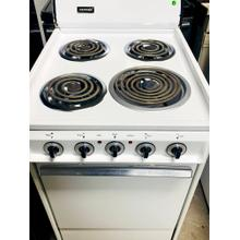 USED- WHITE TAPPAN 20 IN. COIL ELECTRIC RANGE-  E20WHCOIL-U SERIAL #6