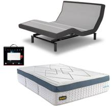 Leggett & Platt Prodigy 2.0 Adjustable Bed, Bedboss Revolution Hybrid Mattress, and set of Dreamfit Sheets