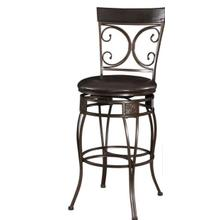 BIG & TALL BACK-TO-BACK SCROLL BARSTOOL