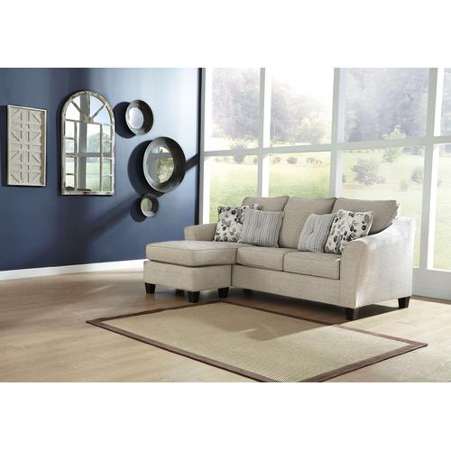 CLEARANCE Abney Sofa Chaise - Driftwood