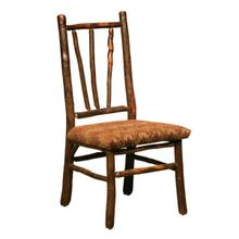 See Details - DINER WAGON WHEEL SIDE CHAIR