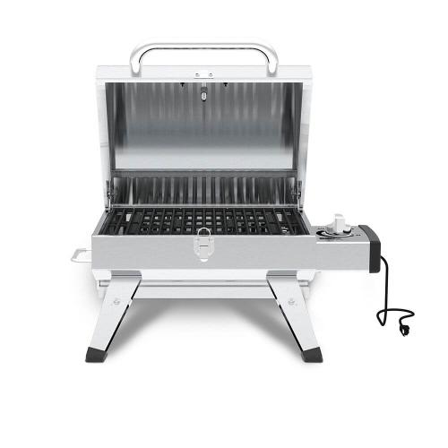 Grillpro - Table Top Portable Electric BBQ in Stainless Steel