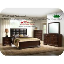 Crown Mark Furniture B6510 Jacob Bedroom set Houston Texas USA Aztec Furniture