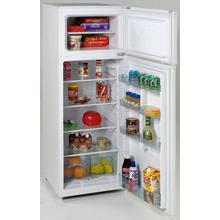 View Product - Model RA7306WT - 7.4 CF Two Door Apartment Size Refrigerator - White