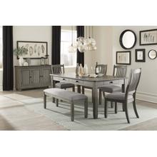 Gray Dining Side Chair