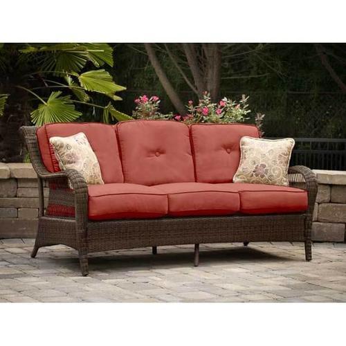 Agio Pinehurst Steel Woven Patio Sofa