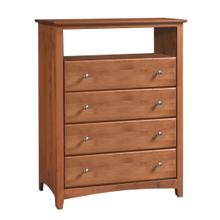See Details - Archbold- 'Shaker' 4 Drawer Entertainment Chest