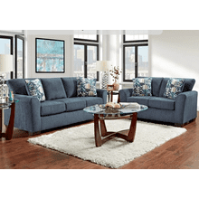 ALLURE NAVY LOVESEAT   (3332)