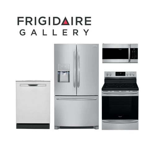 View Product - Frigidaire Gallery 4 Piece Stainless Steel Kitchen Package