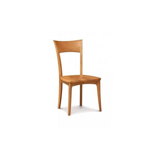 INGRID SIDECHAIR WITH WOOD SEAT IN CHERRY