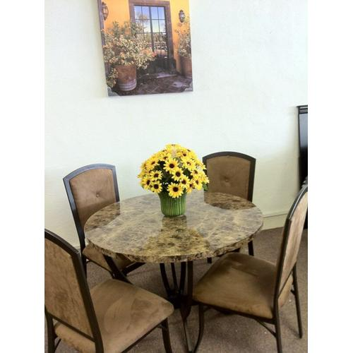 Gallery - Stone Top 5pc Dinette