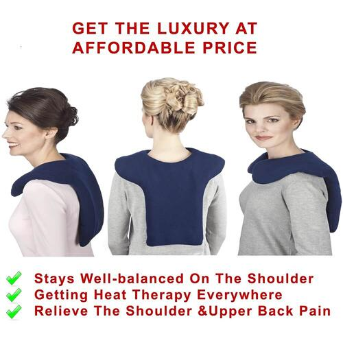 Sunny Bay Bio Med - Shoulder And Upper Back Microwavable Heating Wrap