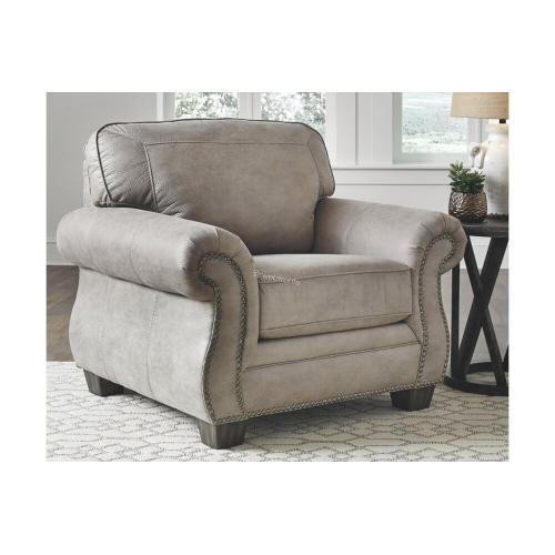 Ashley 487 Olsberg Steel Sofa and Love