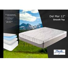 "Del Mar 12"" Classic Memory Foam Mattress"