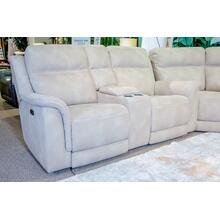 Next-gen Durapella Zero Gravity Power Reclining Loveseat With Console Sand