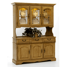 Classic Oak China Cabinet / Buffet