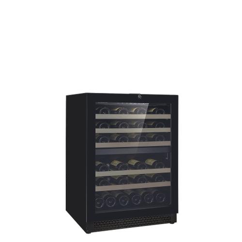 Vinoa Collection - Push-To-Open Full Glass Door, Built-In/Freestanding Wine Cellar - 41 Bottles Capacity - Dual Zone