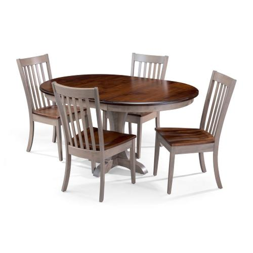 Archbold Furniture - Maple Driftwood 5 Pc Dining