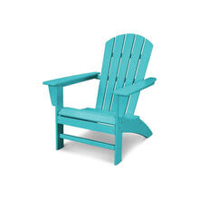 Nautical Adirondack Chair in Vintage Aruba
