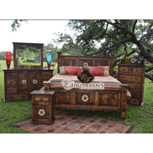 Laredo King 7 Piece Bedroom Set