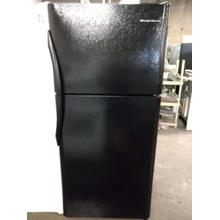 Black Top Mount Frigidaire Refrigerator (This is a Stock Photo, actual unit (s) appearance may contain cosmetic blemishes. Please call store if you would like actual pictures). REBATE NOT VALID with this item.  ISI 37252 B