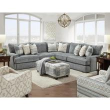 Handwoven Slate Sectional