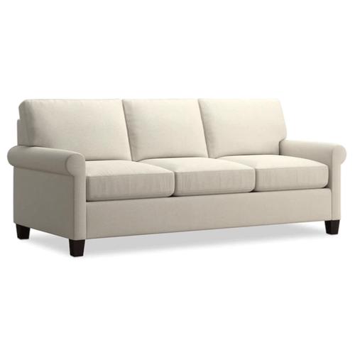 Bassett Furniture - Spencer Sleeper Sofa - Cream Fabric