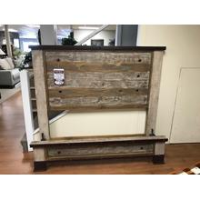 Product Image - IFD Pine Queen Bed
