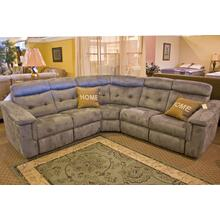 Miles Sectional with End Recliners
