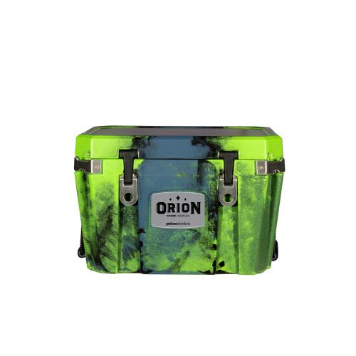 """Orion Coolers - Are you one of those people who will let a whim turn the usual day trip into an overnighter"""" Do you run in circles that occasionally result in an unexpected extra mouth to feed"""" Say hello to Orion 35, the perfect step up from our smallest model."""