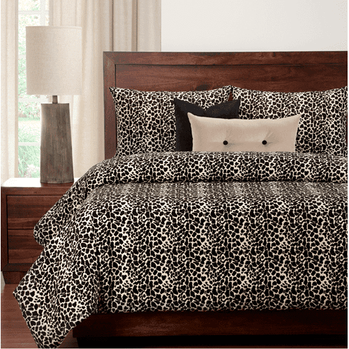 """Big Cat Black"" SIS Essentials Bedding Collection"
