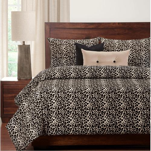 """Big Cat Black"" SIS Essentials Bedding Collection"