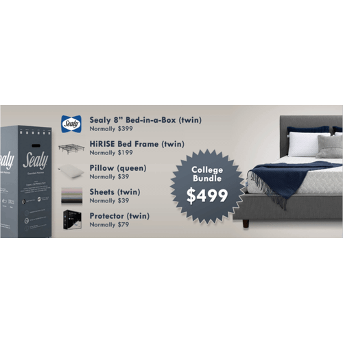 Sealy College Bundle - Twin