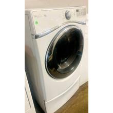 See Details - USED- Whirlpool® Duet® Super Capacity Plus Front-Load Electric Dryer- FLDRYE27W-U SERIAL #115