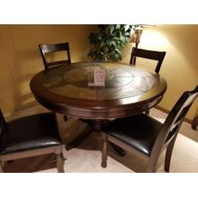 5-Piece Round Counter Height Dining Room Set