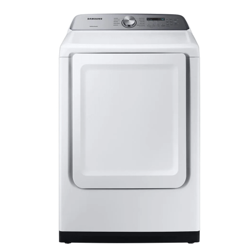 Samsung - Samsung 5.0 cu. ft. Top Load Washer with Active WaterJet & 7.4 cu. ft. Gas Dryer (sold as set)