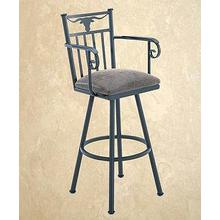 Longhorn - Swivel Stool
