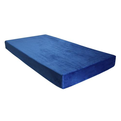 "Kids-Pedic Waterproof Memory Foam Mattress - 7"" Blue"