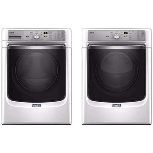 Maytag Front Load Laundry Package With Electric Dryer In White