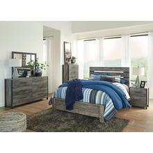 Cazenfeld Qn Bed, Dresser, Mirror and Nightstand
