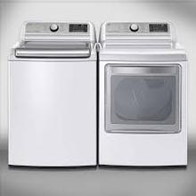 Mega Capacity LG WiFi Washer & Electric Dryer