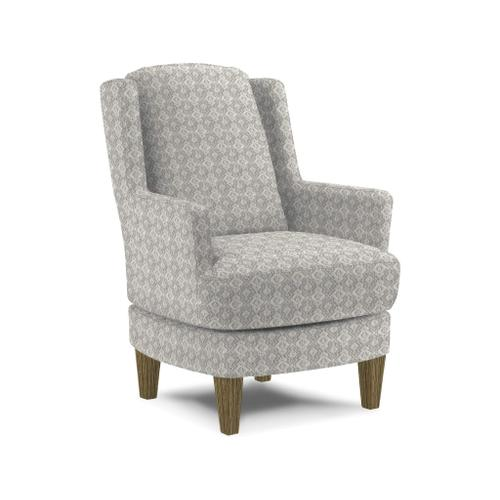 Crew Swivel Barrel Chair in Cement Fabric