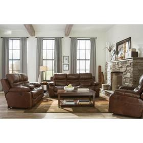 Patton Chestnut Sofa - Reclining