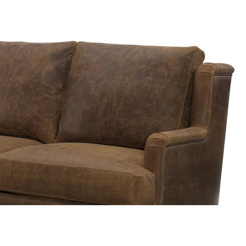 Wesley Hall - Macintosh Leather Sofa - Premier Collection