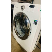 See Details - USED- 3.6 cu. ft. Large Capacity Front Load Washer (White) FLWAS27W-U  SERIAL #165