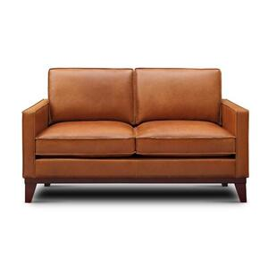 6379 Monza Saddle Leather Loveseat