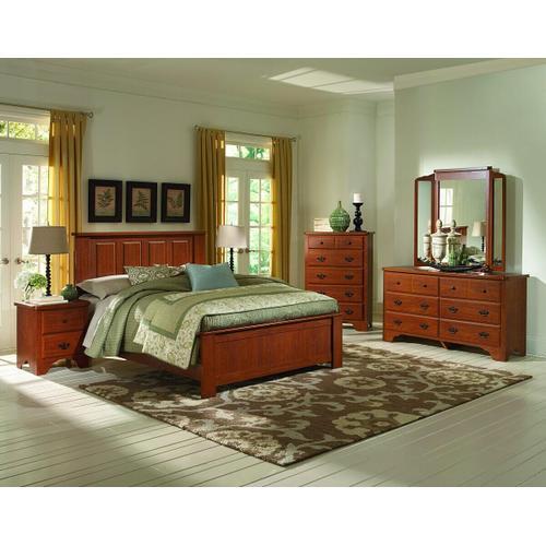 Cottage Collection Dresser & Mirror